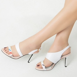 Ericdress Princess Backless Stiletto Sandals
