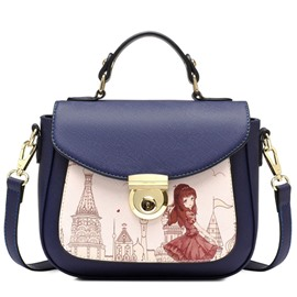 Ericdress Preppy Cartoon Print Handbag