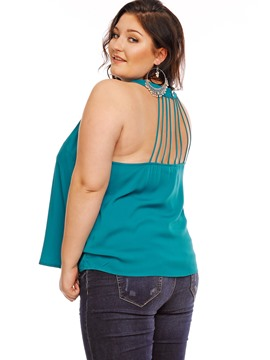 Ericdress Backless Plus Size Stylish Vest