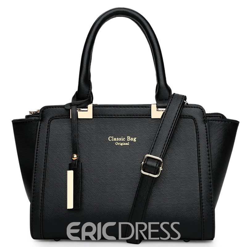 Ericdress European Casual Cross Pattern Handbag