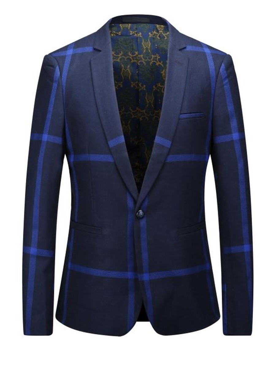 Ericdress One Button Classic Vogue Men's Blazer