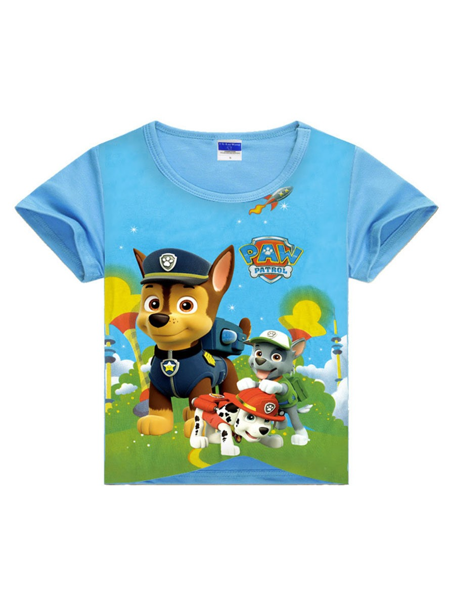 Ericdress Cartoon Printing Scoop Boys T-Shirt