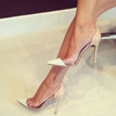 Ericdress Patchwork Patent Leather Pointed Toe Pumps