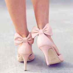 Ericdress Sweet Back Bow Stiletto Heels фото