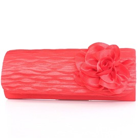 Ericdress Grace Floral Wrinkle Embroidery Evening Clutch