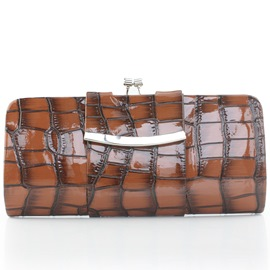 Ericdress Plaid Alligator Pattern Evening Clutch