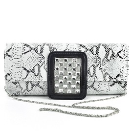 Ericdress Rhinestone Decorated Print Evening Clutch