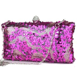 Ericdress Shiny Sequins Rhinestone Evening Clutch
