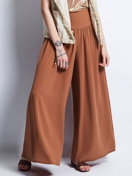 Plain Loose Wide Legs Pants