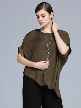 Ericderss Batwing Sleeve Coffee T-Shirt