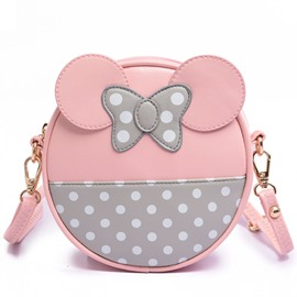 Ericdress Sweet Polka Dot Bowtie Shoulder Bag