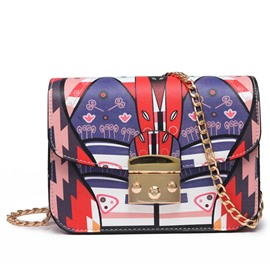 Ericdress Graffiti Print Crossbody Bag