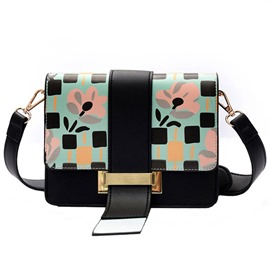 Ericdress Casual Geometric Print Draw String Shoulder Bag