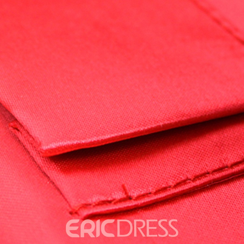 Ericdress Korean Pleated Rhinestone Evening Clutch