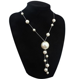 Ericdress All-Matched Double Layers Pearl Charm Necklace