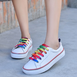 Ericdress Lovely Lace up Canvas Shoes