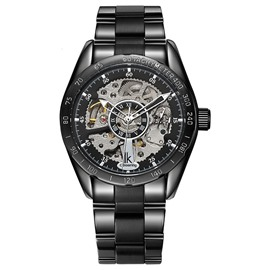 Ericdress exquisite skeleton automatische mechnische Herrenuhr