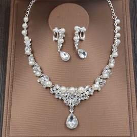 Ericdress Precious Pearl Jewelry Set for Women