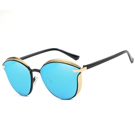Ericdress Vintage Round Polarized Sunglasses