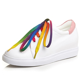 Ericdress Colorful Straps White Shoes