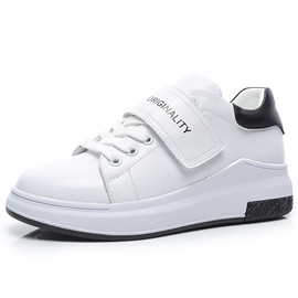 Ericdress Patchwork Velcro White Sneakers