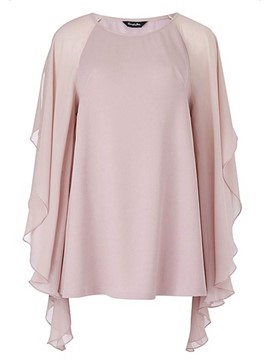 Ericdress Batwing Sleeve Comfy Blouse
