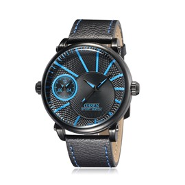 Ericdress Leisure Waterproof Dual Time Zone Men's Watch