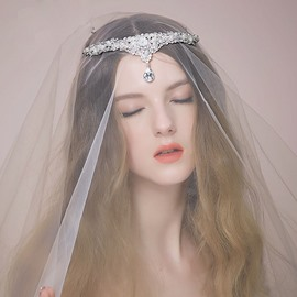 Ericdress Luxury Wedding Tiara Headpiece