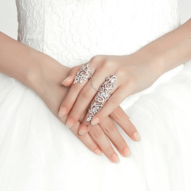 Ericdress Elegant Wdding Ring for Bride