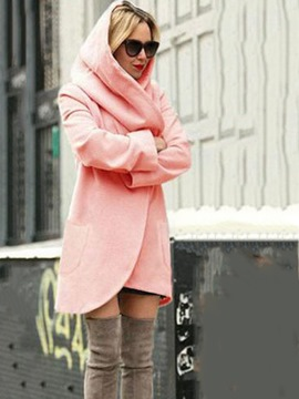 Ericdress Loose Fall Hooded Overcoat