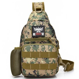 Ericdress Camo Nylon Men's Mountaining Bag