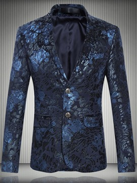 Ericdress Unique Vintage Print Men's Blazer