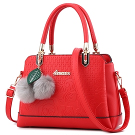 Ericdress Vogue Floral Embossing Platinum Handbag