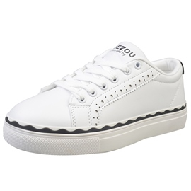 Ericdress Chic Lace up Canvas Shoes