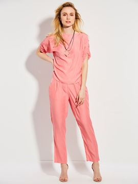 Ericdress T-Shirt and Ankle Length Pants Women's Two Piece Set