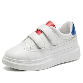 Ericdress Color Block Velcro White Shoes