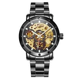 Ericdress JYY Exquisite All Automatic Mechnical Hollow-Out Men's Watch