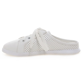 Ericdress White Cut Out Slippers