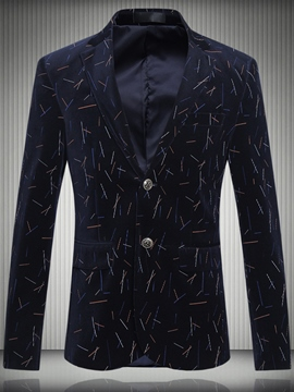 Ericdress Plus Size Print Vogue Casual Men's Blazer