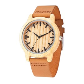 Ericdress Brief Wood Leisure Men's Watch