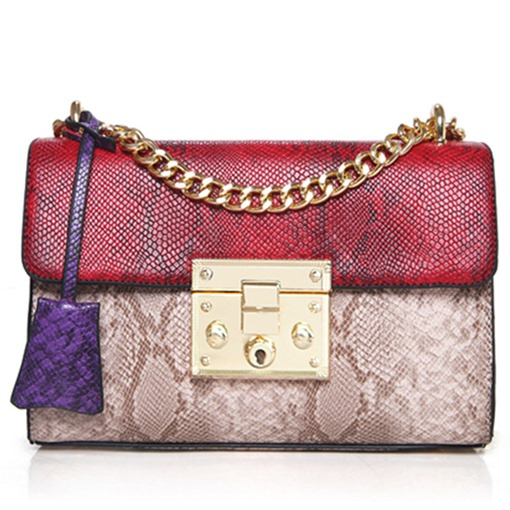 Ericdress Temperament Serpentine Print Crossbody Bag