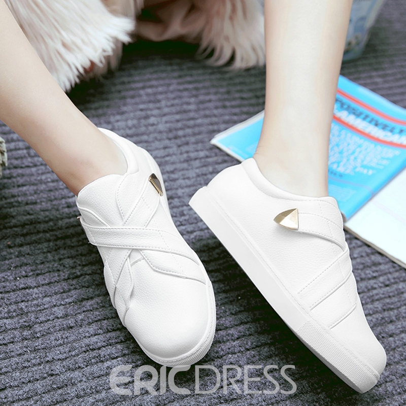 Ericdress Special PU Slip on Flats