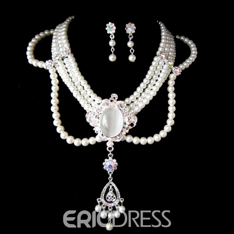 Ericdress High End Jewelry Set for Wedidng