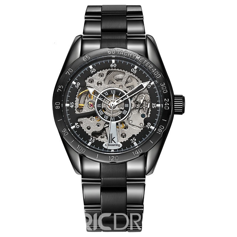 Ericdress JYY Exquisite Skeleton Automatic Mechnical Men's Watch