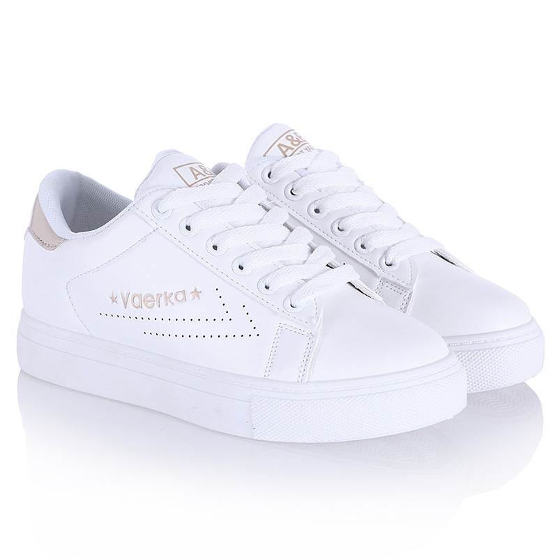 Ericdress Delicate White Letter Print Sneakers