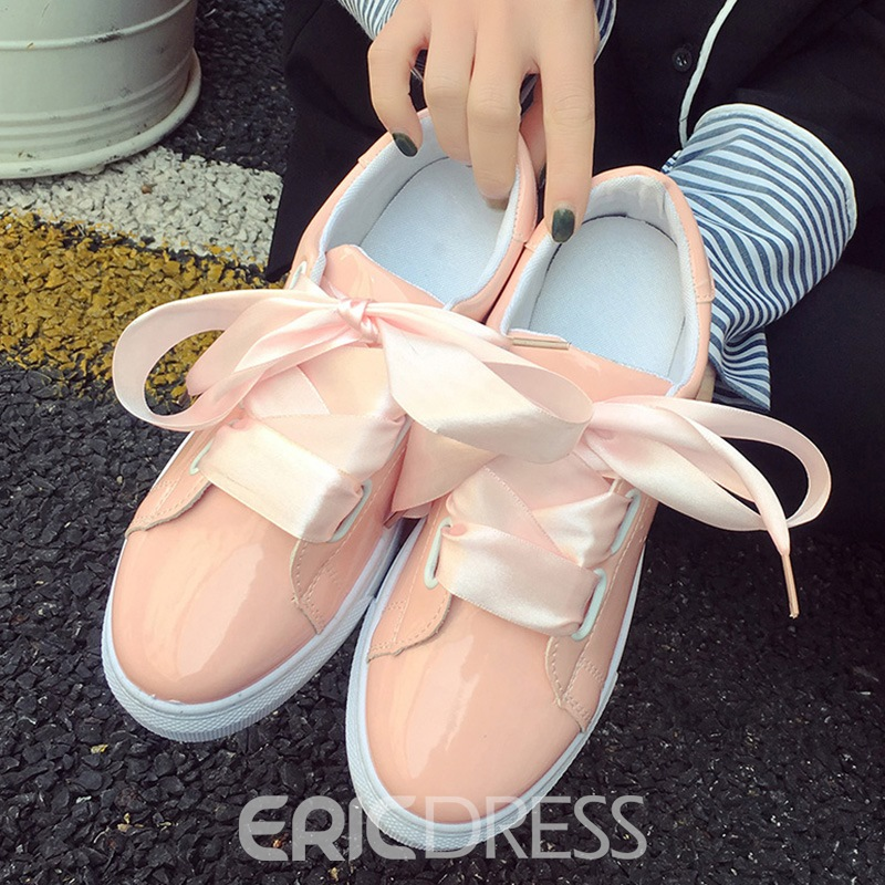 Ericdress Lace Strap Flats