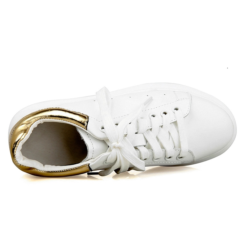 Ericdress Solid Color Round Toe Sneakers