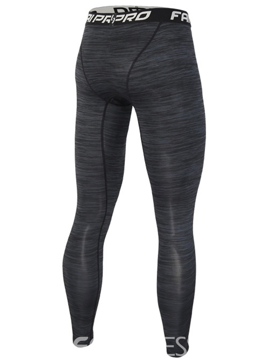 Ericdress Stripe Anti-Sweat Full Length Cycling Sports Pants