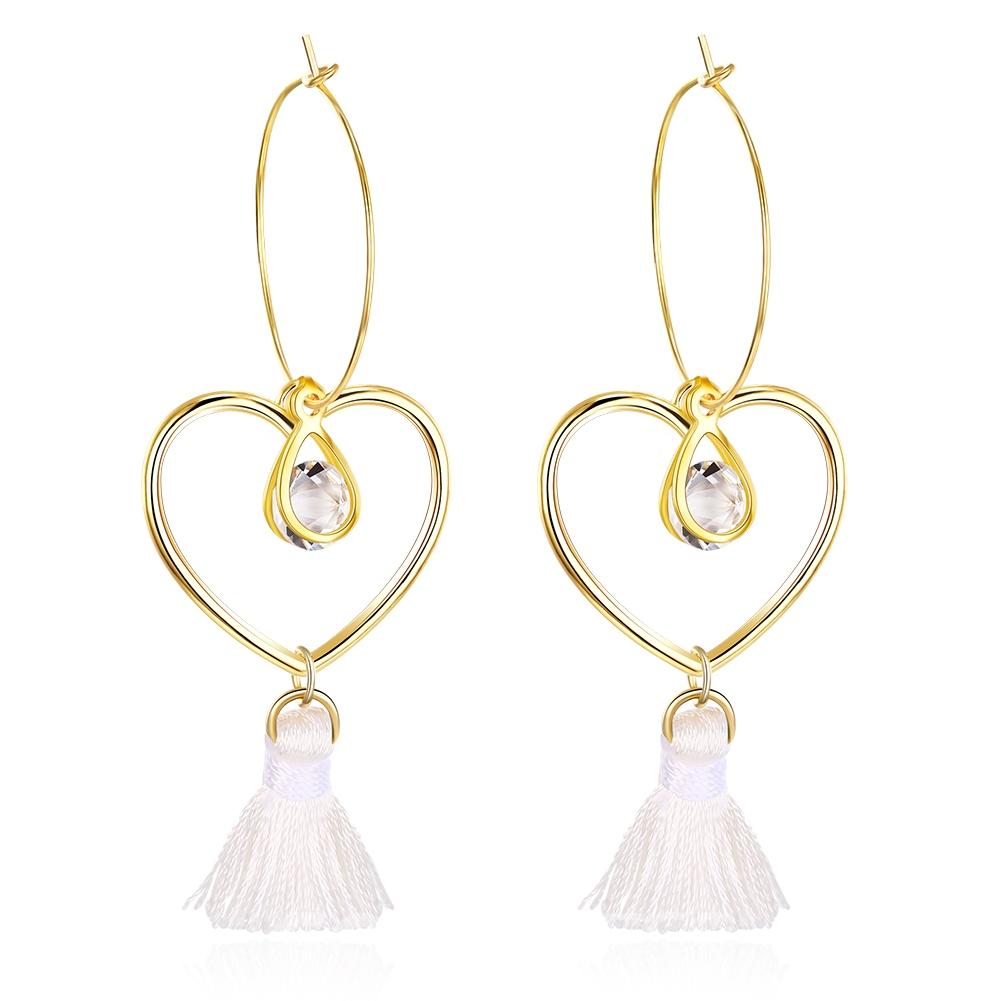 Ericdress Alloy Pendant Tassel Fashion Earrings