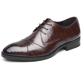 Ericdress Leather Lace-Up Professional Men's Shoes